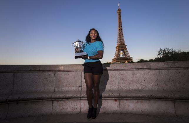 Serena Williams też potrafi być kobieca