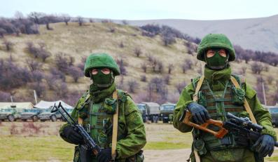"""""""Zielone ludziki"""" na Krymie"""