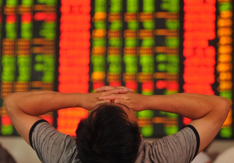 Dramat na chińskiej giełdzie