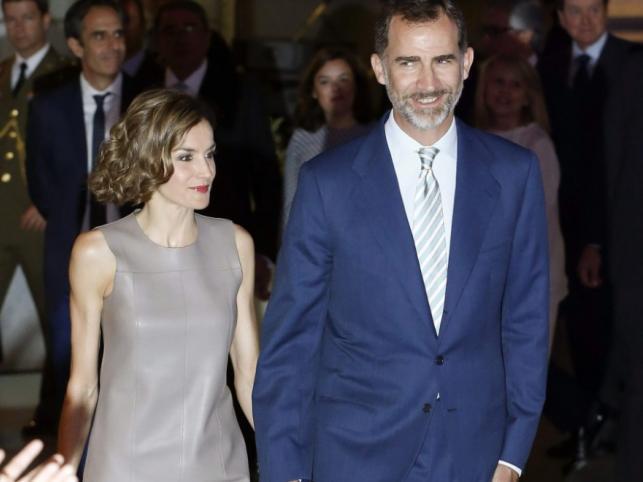 Królowa Letizia i król Filip VI