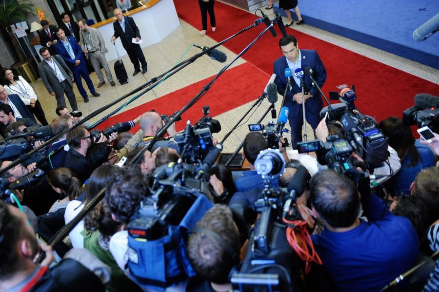 Grecki premier Alexis Tsipras
