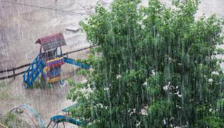 Ulewny deszcz