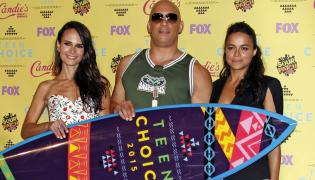 Jordana Brewster, Vin Diesel i Michelle Rodriguez na Teen Choice Awards