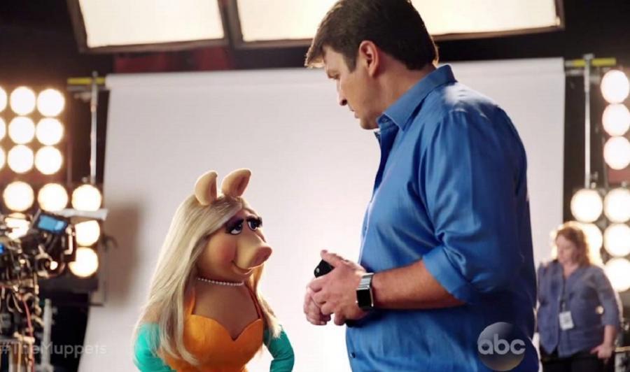 Piggy czaruje gwiazdora serialu \