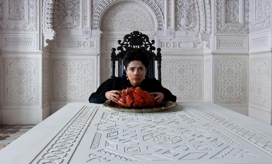 Zła królowa Salma Hayek...