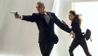 "Rupert Friend i Hannah Ware w filmie ""Hitman: Agent 47"""
