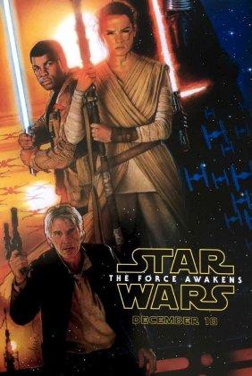 """""""Gwiezdne wojny: Przebudzenie mocy"""" na pierwszym plakacie"""