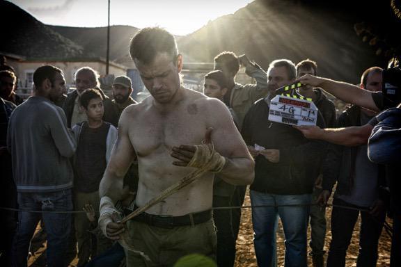 Nowy Bourne na pierwszym zdjęciu z planu