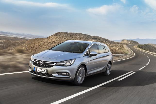 Opel astra sports tourer