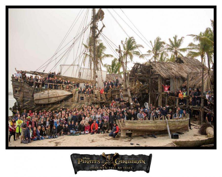 Oto wszyscy piraci z Karaibów