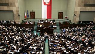 Sala posiedzeń w Sejmie