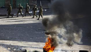 Starcia w Hebronie