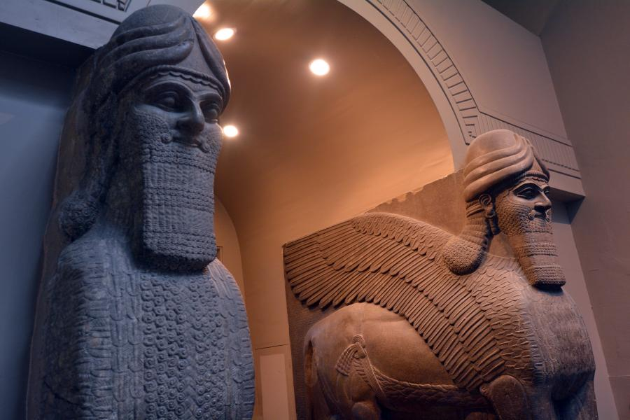 Nimrud - rzeźby