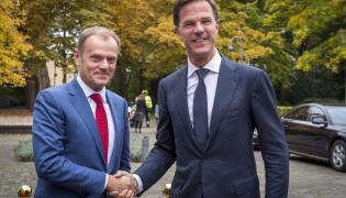 Donald Tusk i Mark Rutte