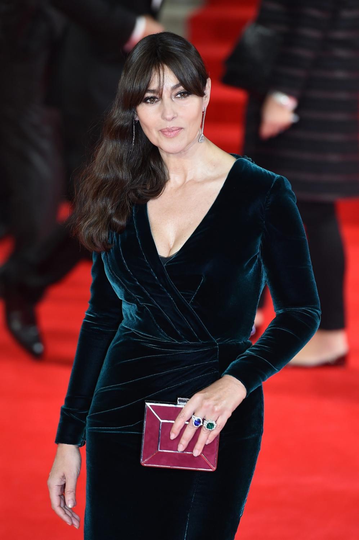 """Monica Bellucci na premierze """"Spectre"""" w Londynie"""