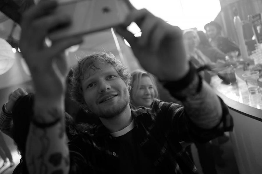 Ed Sheeran na planie \