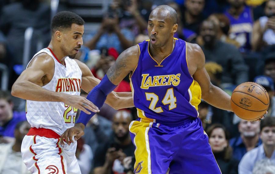 Kobe Bryant i Thabo Sefolosha