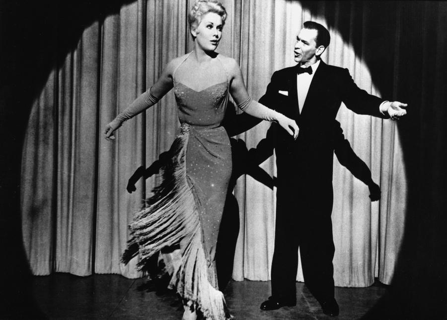 "Kim Novak i Frank Sinatra w filmie ""Kumpel Joey"""