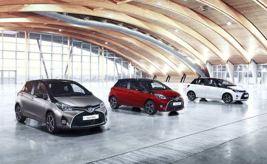 Toyota yaris - 1. miejsce