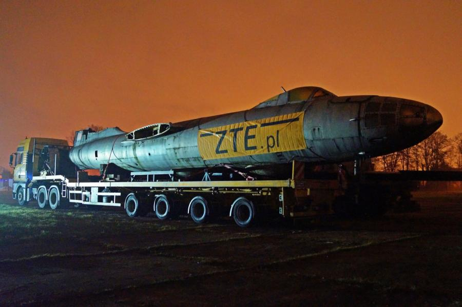 Transport samolotu Ił-28