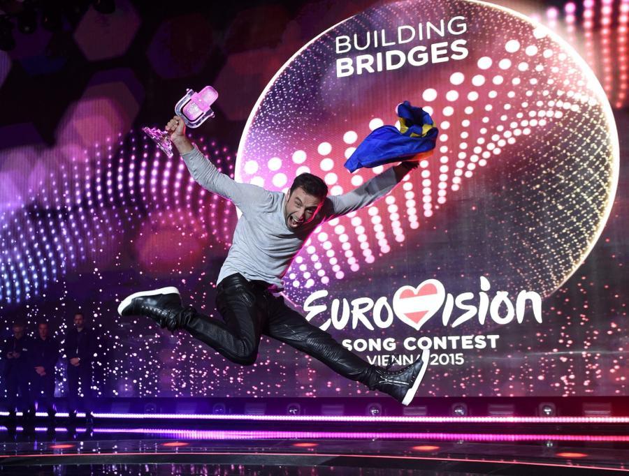Maj 2015: Måns Zelmerlöew wygrywa Eurowizję