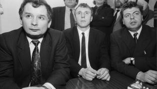 Jacek Kurski, Jarosław Kaczyński i Piotr Semka