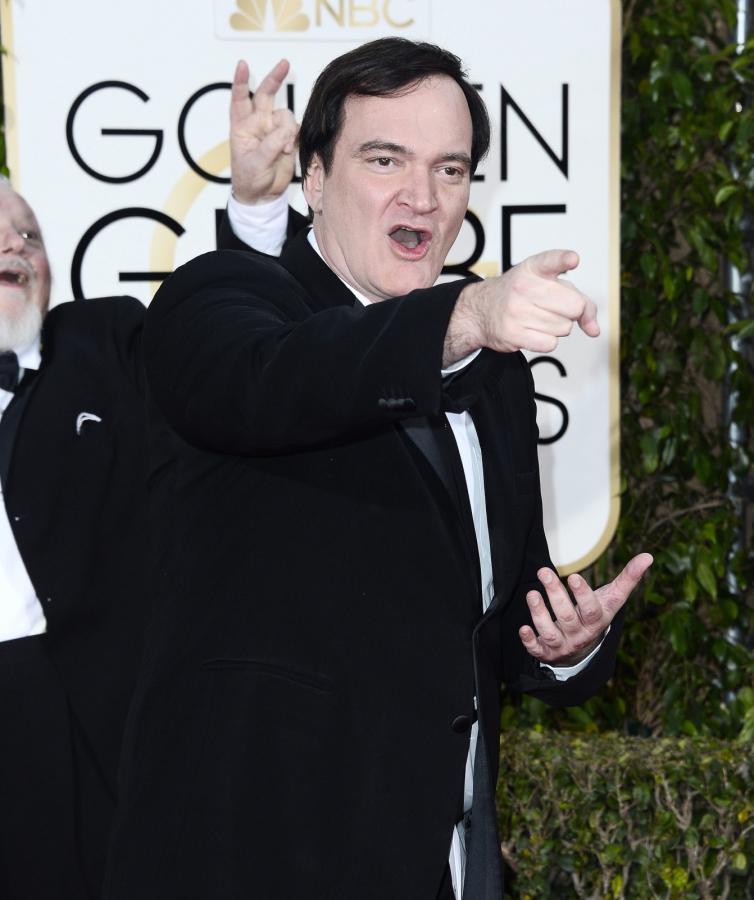Złote Globy zza kulis: Quentin Tarantino