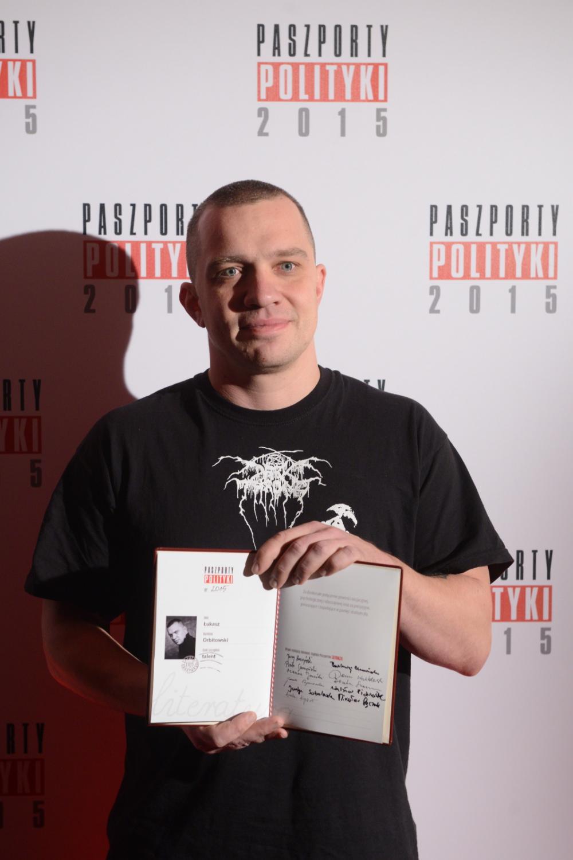 Laureaci Paszportów Polityki: Łukasz Orbitowski