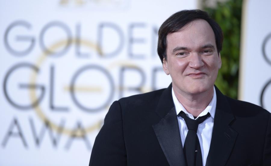 Quentin Tarantino na gali Złotych Globów 2016