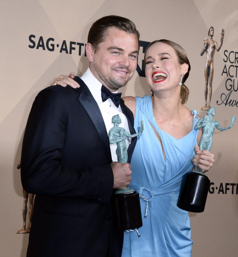 Leonardo DiCaprio i Brie Larson – zdobywcy Screen Actors Guild Awards 2016