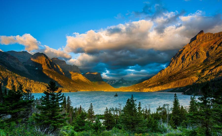 Park Narodowy Glacier w Montanie, USA