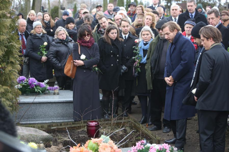 Ostatnie pożegnanie Andrzeja Żuławskiego