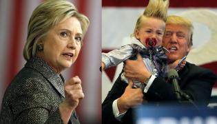Hilary Clinton i Donald Trump