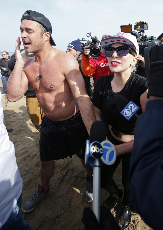 Taylor Kinnney i Lady Gaga wsparli paraolimpiadę w Chicago