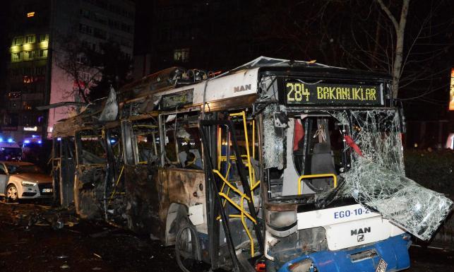 Zamach terrorystyczny w stolicy Turcji. Drastyczne ZDJĘCIA z ataku