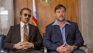 Równi goście Ryan Gosling i Russell Crowe