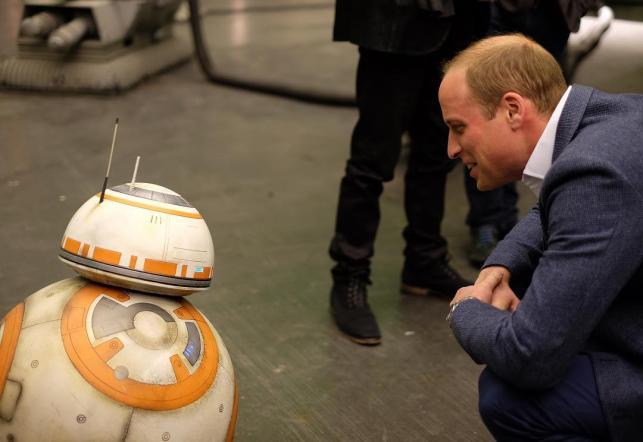Co BB-8 powiedział Williamowi?