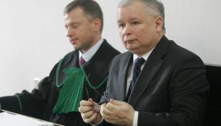 Jarosław Kaczyński (z prawej) i Grzegorz Kuczyński (z lewej)
