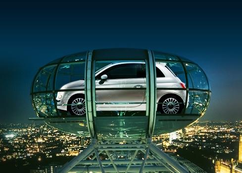 Fiat 500 - w kapsule do gwiazd