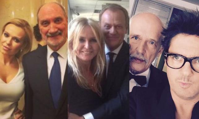 Selfie gwiazd z politykami. Która strona zyskuje więcej? [FOTO]