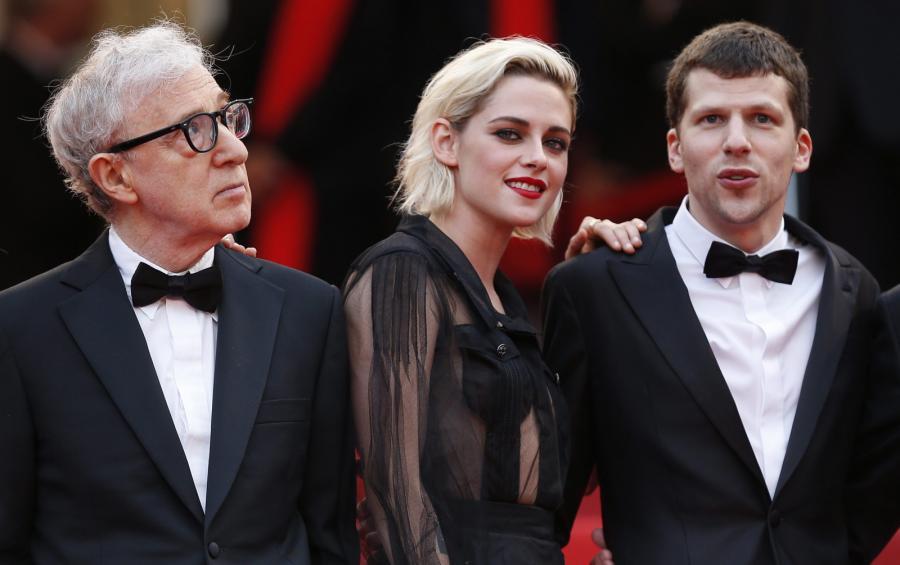 Woody Allen, Kristen Stewart i Jesse Eisenberg