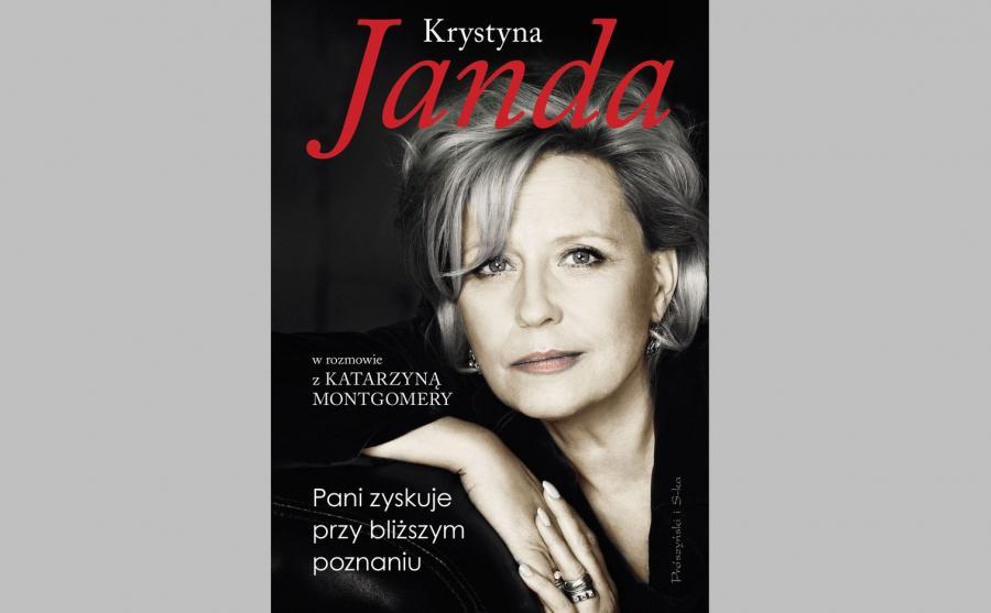 Okładka książki Krystyny Jandy i Katarzyny Montgomery \