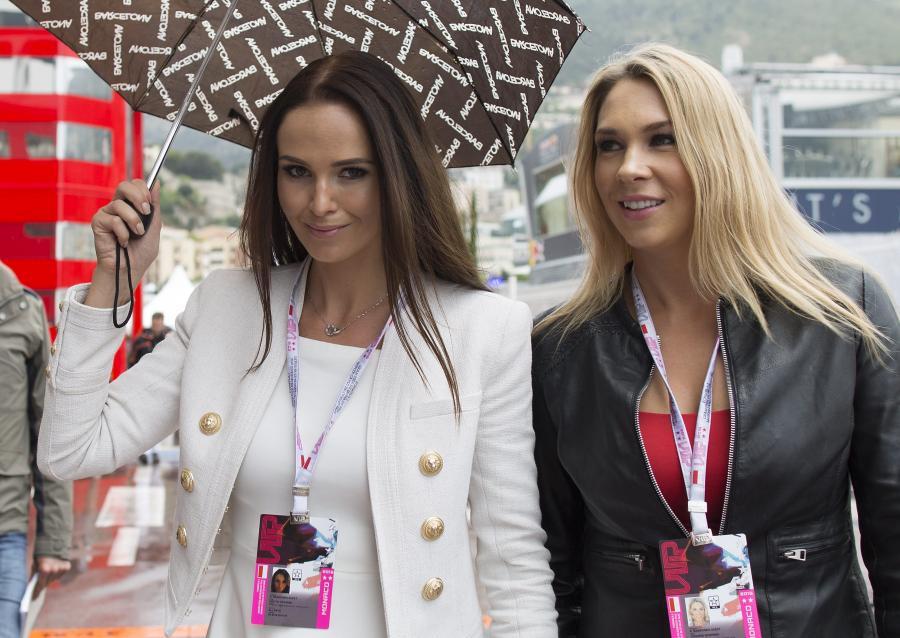 Partnerka Kimiego Raikkonena błyszczy w Monte Carlo