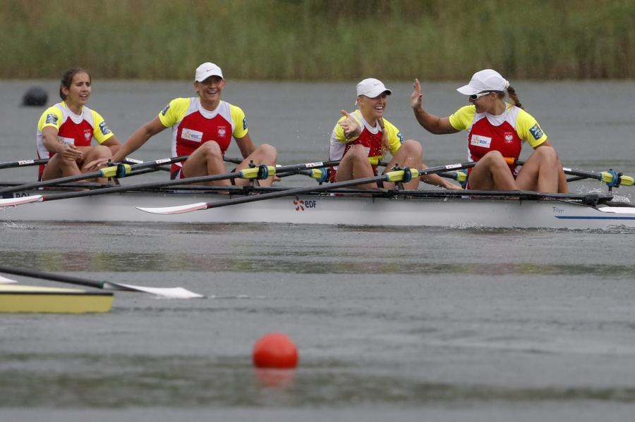 Monika Ciaciuch, Maria Springwald, Joanna Leszczyńska i Agnieszka Kobus