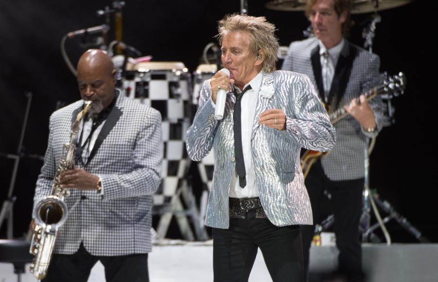 Rod Stewart wystąpił w Atlas Arenie