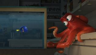 Dory –rybka, którą naprawdę da się lubić i Hank –ośmiornica po przejściach