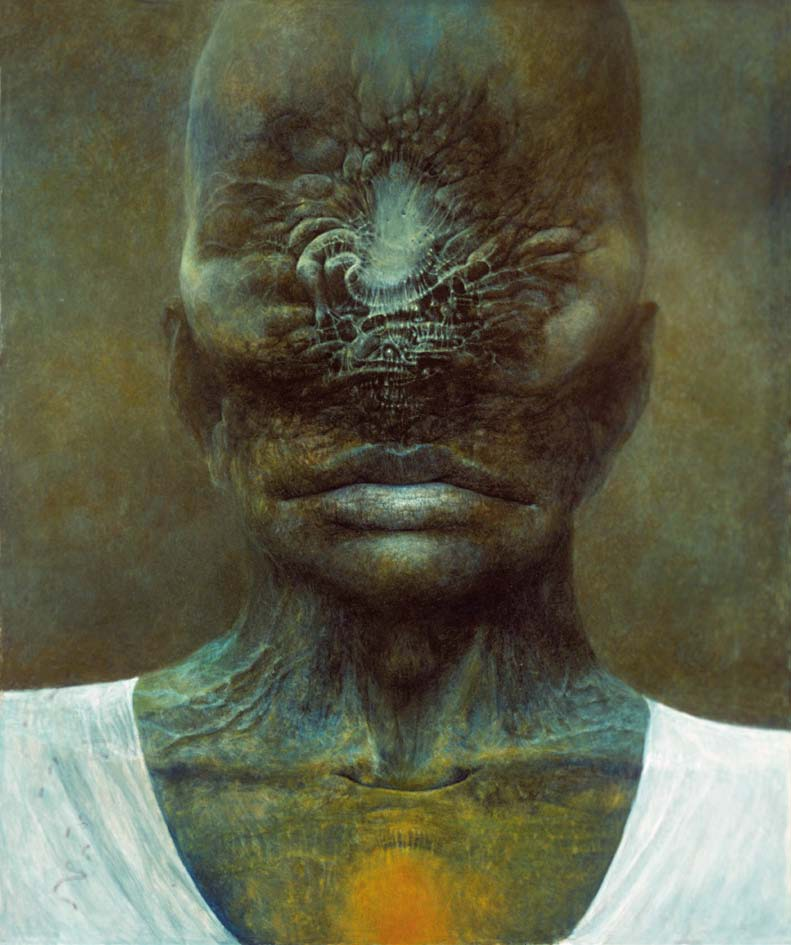XXX, 1981, akryl, 87 x 73 cm