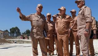 Rosyjski minister obrony, Siergiej Szojgu, odwiedził wojska w Syrii