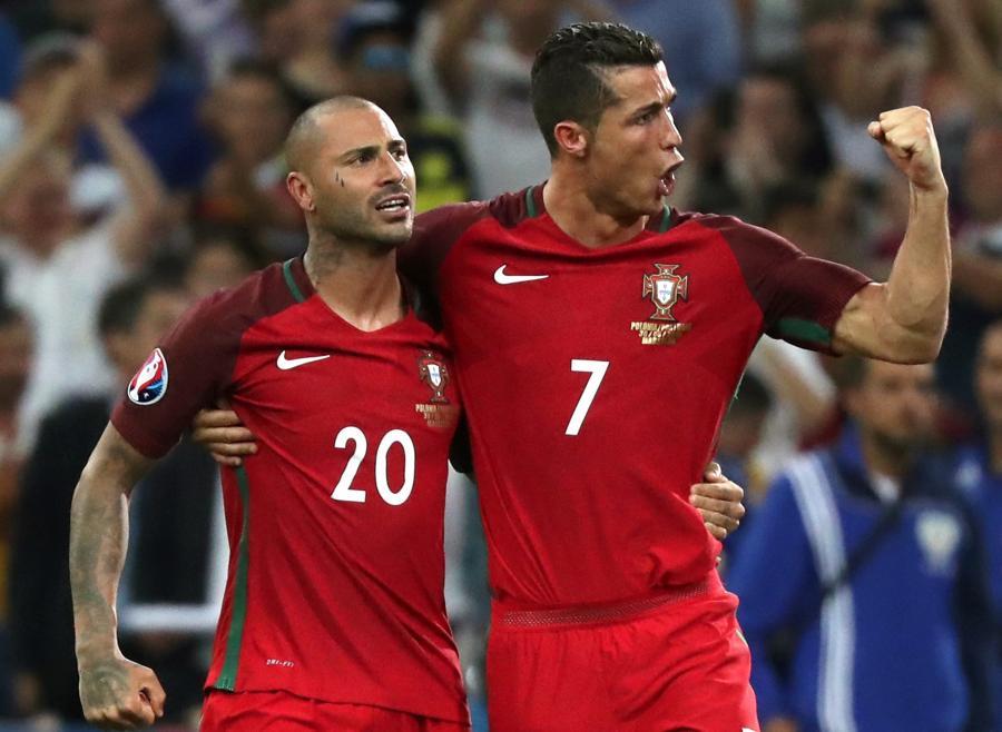 Ricardo Quaresma i Cristiano Ronaldo