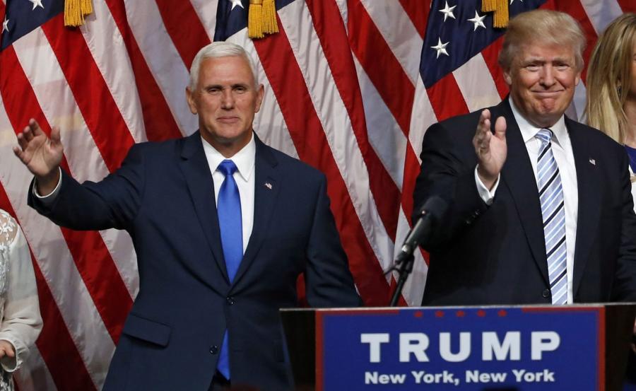 Mike Pence i Donald Trump